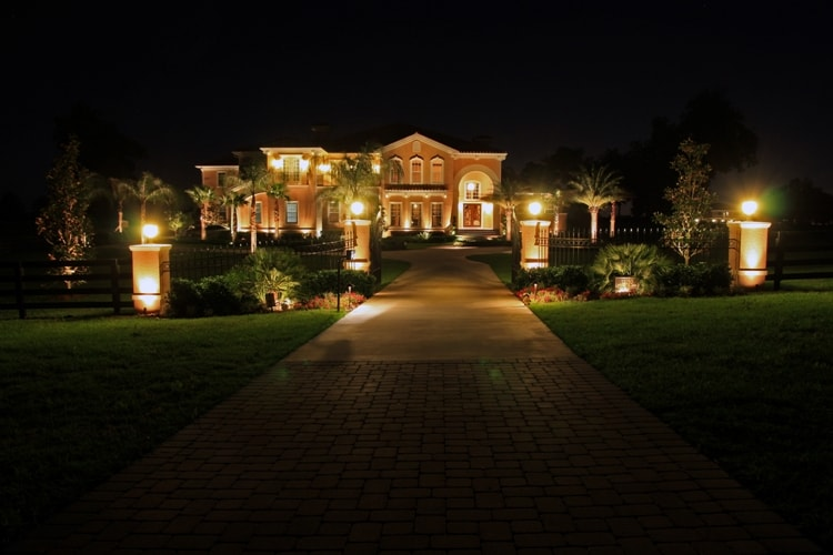 Made In America Decor Designing A Landscape Lighting